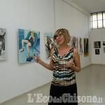 Foto Gallery: None: l'inaugurazione dello studio della pittrice Angela Policastro