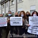 Foto Gallery: Pinerolo: La protesta dei commercianti