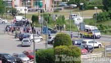 Rivalta: auto cappotta in via Giaveno, code e disagi a Gerbole - L'Eco del Chisone