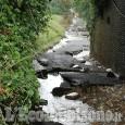 Un fiume in mezzo alle strade della valle Infernotto