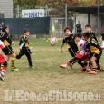 Rugby: concentramento di bambini a Volvera
