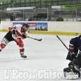 """Hockey ghiaccio, nel deserto del """"Cotta"""" dopo 40'Valpe avanti 3 a 1"""