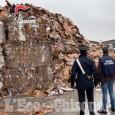 Piobesi: 500 tonnellate di rifiuti stoccati irregolarmente, marito e moglie denunciati
