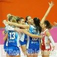 Volley A2 donne, Eurospin Ford Sara alla prima vittoria: s'inchinano le modenesi