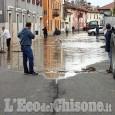 Allerta meteo: l'acqua del Po arriva in paese a Pancalieri