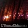Incendio di Cumiana: preoccupano ancora due focolai