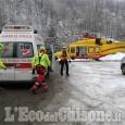 Coazze: si frattura una gamba a Pian Neiretto, bimbo di 8 anni in elisoccorso all'ospedale