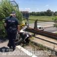 Nichelino: si schianta con la moto della scuola guida sul cavalcavia della tangenziale