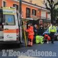 Revello: travolto da un'auto mentre attraversava la strada, pensionato in ospedale