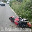 Nichelino: moto contro auto, feriti due giovani