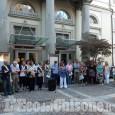"""Una Pinerolo commossa e partecipe ricorda le """"sue"""" vittime del crollo del Ponte Morandi"""