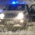 Salza di Pinerolo: bloccati (e isolati) dal maltempo, anziani soccorsi dai carabinieri