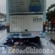 Bruino: tampona il bus vicino alla fermata, grave centauro 43enne