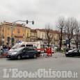 Pinerolo: incidente in corso Torino, tre mezzi coinvolti