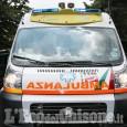 Candiolo:  scontro tra furgone e automobile, tre feriti gravi