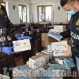 400mila mascherine importate illegalmente, maxi sequestro anche in un sushi restaurant di Orbassano