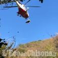 Cumiana: cade mentre cercava funghi, 81enne al Cto in elisoccorso