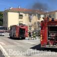 Orbassano: si incendia una moto, fiamme nei box interrati di piazzetta Lombardi