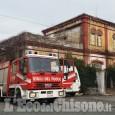 Pinerolo: fiamme nell'ex scuola di Mascalcia