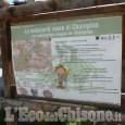 Discarica abusiva a Champas Seguin sull'area geologica dei Radiolariti