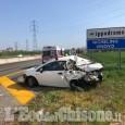 Nichelino: camion tampona auto sulla tangenziale sud, 59enne in ospedale