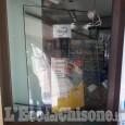 Volvera: spaccata alla farmacia di via Ponsati, ladro in fuga su una moto