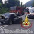 Auto contro camion sul col di Nava, muore 64enne di Beinasco