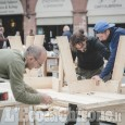 "Incursioni pinerolesi alla ""Traversée"" in corso a Saluzzo per la Mostra dell'Artigianato"