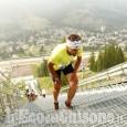 Pragelato, corsa verticale: quattro minuti per scalare il trampolino olimpico