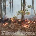 Incendio Cumiana: ancora focolai a Tavernette e zona Tre Rii