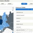 Elezioni 4 marzo 2018: l'affluenza alle ore 19 a Pinerolo e in 20 Comuni del Pinerolese