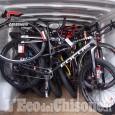 Airasca: ladri di biciclette a Barge, scappano abbandonando il bottino