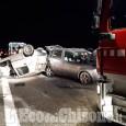 Scontro tra due veicoli sulla Torino-Pinerolo, il bilancio è di tre feriti