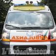 Trana: auto fuori strada sulla Sp589, ferita 25enne