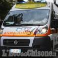 Torre Pellice: incidente sulla Provinciale, trasportato in elisoccorso al Cto
