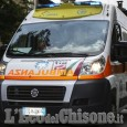 Finisce fuori strada a Sommariva Perno, ferito biker 33enne di Sangano