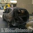 Pinerolo: auto in fiamme in Via Rossi