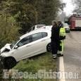 Piossasco: schianto tra auto in via Alpi Cozie, tre i feriti