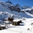 La foto vincitrice della settimana: Baite della neve, guardando il Monviso