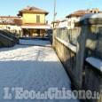 Pinerolo, ancora disagi per neve a Baudenasca