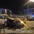 Airasca: scontro tra due veicoli in via Vigone