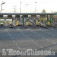 Beinasco: fa inversione in autostrada per non pagare il pedaggio