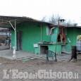 Blitz anti-abusi edilizi al campo nomadi di Borgaretto