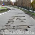 Pinerolo: pericolo buche sulla circonvallazione