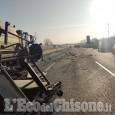 Nichelino: chiusa la tangenziale sud per un grave incidente, morto un 51enne