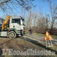 Rivalta: via ai lavori di restyling per i sette chilometri della pista ciclabile del Sangone