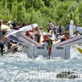 Carton Rapid Race: a Oulx la gara su canoe di cartone e scotch