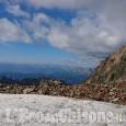 Crissolo: precipita lungo la via normale al Monviso, ferito alpinista