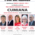 Cumiana: questa sera faccia a faccia tra i cinque candidati a sindaco