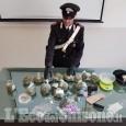 Controlli antidroga, cinque 20enni denunciati per spaccio in Valle Po